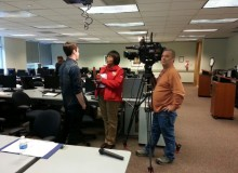 Cannabis College on the news. A WCI student getting interviewed by local news.